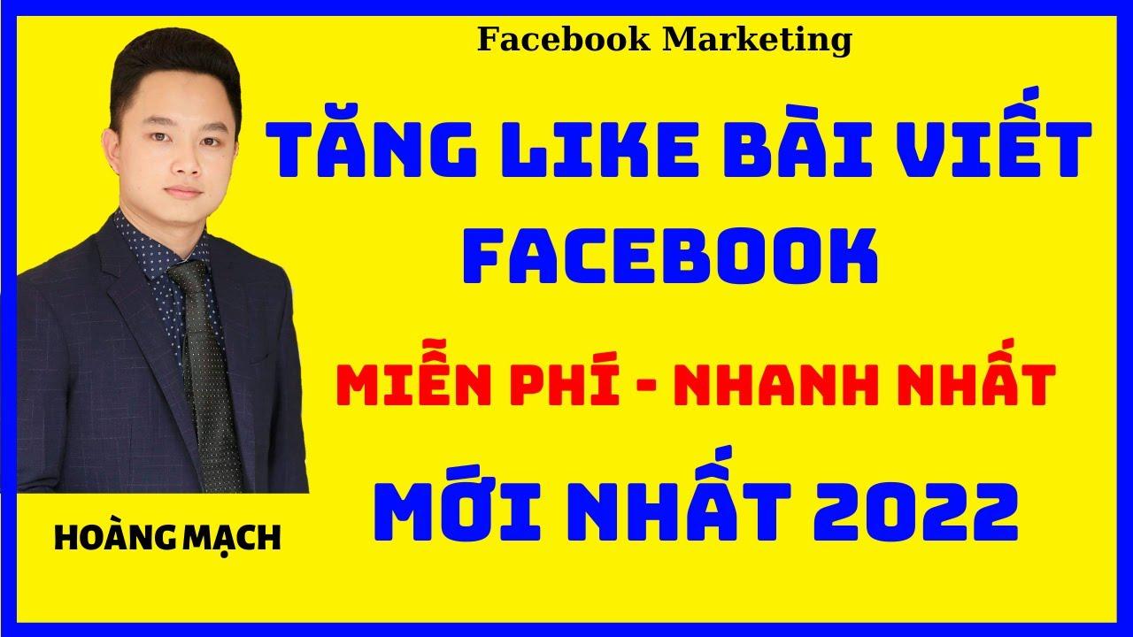 Hướng dẫn tăng like facebook miễn phí 2020