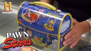 "Pawn Stars: 1963 ""The Jetsons"" Lunchbox (Season 15) 