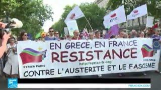 أزمة الديون - التضامن الشعبي مع اليونانيين