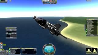 Kerbal Space Program - VTOL Spaceplane