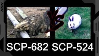 SCP-682 vs SCP-524 (Wszystkożerny Królik Walter) - Dziennik terminacji