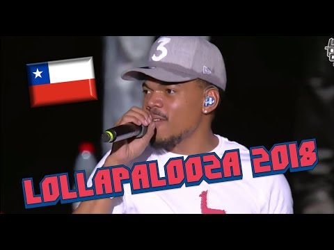 Chance The Rapper - Lollapalooza Chile 2018