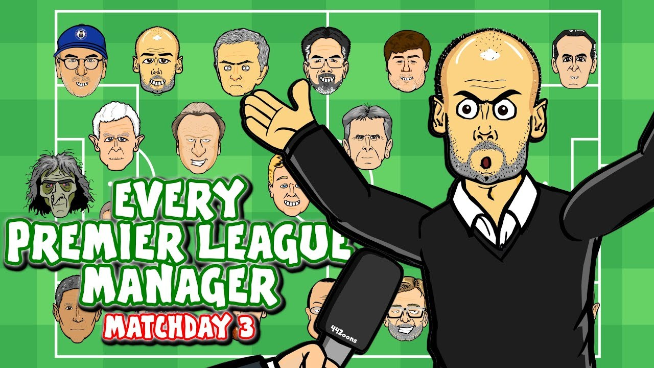 🎤#3 Every Premier League Manager REACTS!🎤