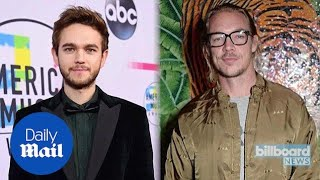 Diplo and Zedd trade insulting tweets after beefing on Twitter - Daily Mail