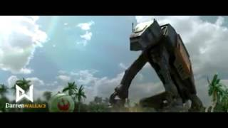 Rogue One Spoof AT-ACT chasing a ball