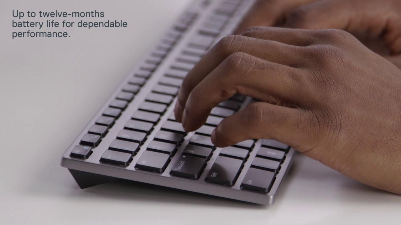 Dell Premier Wireless Keyboard Wk717 Youtube