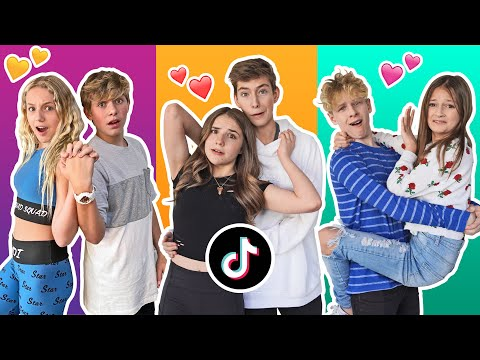 Recreating VIRAL Couples Tik Toks With My CRUSH Challenge **Try Not To CRINGE** | Piper Rockelle