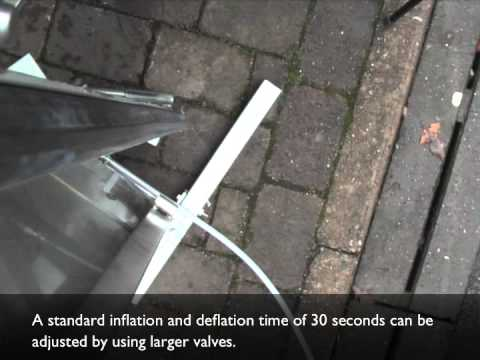 Flood Barrier Inflating Seal Technology Demonstration