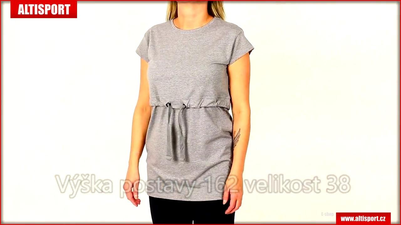 fc2c3e850cb3 dámské triko sam 73 ltsm399 šedá - YouTube