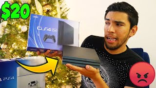 Compre una PS4 en AliExpress Por $20 y esto fue lo que Llego...