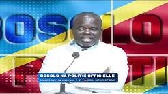 BOSOLO NA POLITIK OFFICIELLE | BOSOLO N'AFFAIRE YA DETOURNEMENT NA DIRECTION YA OGEFREM
