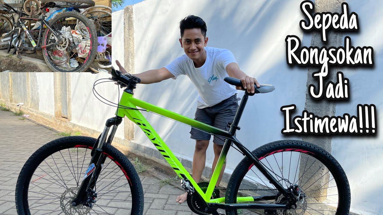 RESTORASI Sepeda Rongsokan Menjadi Sepeda Istimewa