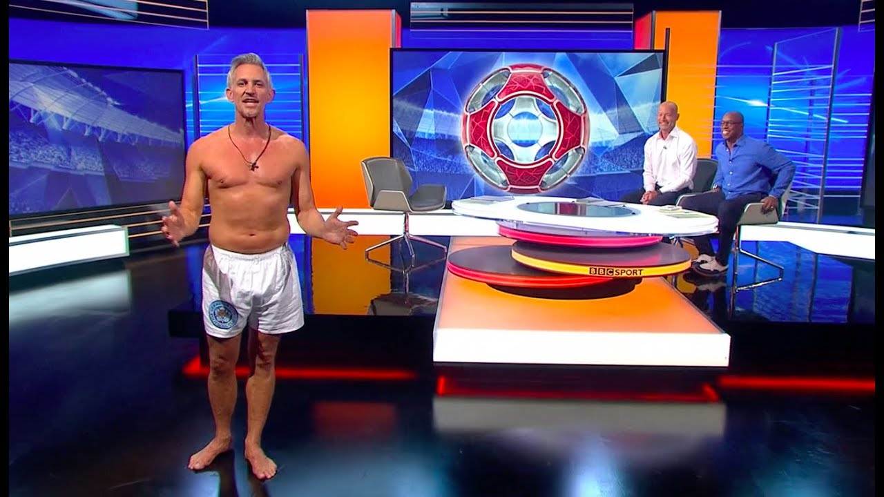 Download Gary Lineker Presents Match of the Day in his Underwear