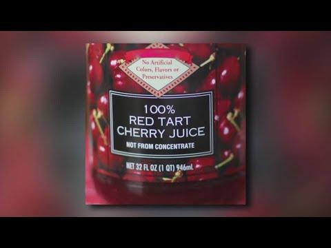 Tart cherry juice for pain relief