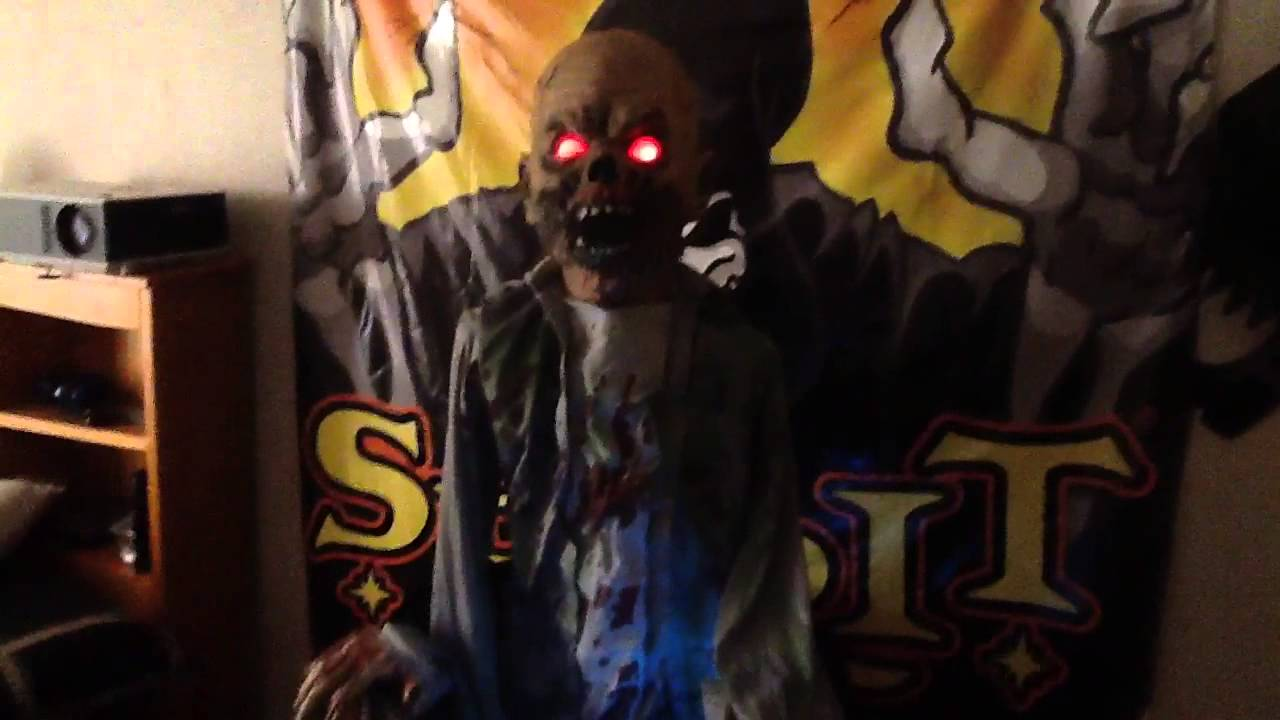 Moonshine barrel zombie spirit halloween - YouTube