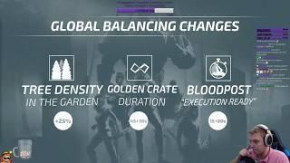 Deathgarden - Перевод стрима разработчиков № 2. Изменения ЗБТ и баланс.