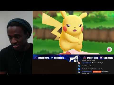 Squid Reacts: Let's Go Pikachu/Eevee Trailer (7/12) Reaction