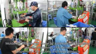 MFI lightning cable manufacture process