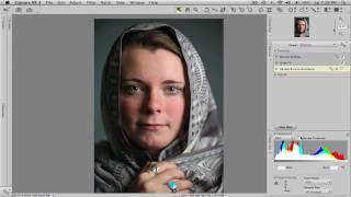 Capture NX 2 Tutorial: Portrait Retouch