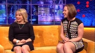"""Lizzy Yarnold & Jenny Jones"" On The Jonathan Ross Show Series 6 Ep 8.22 Feb 2014 Part 2/4"