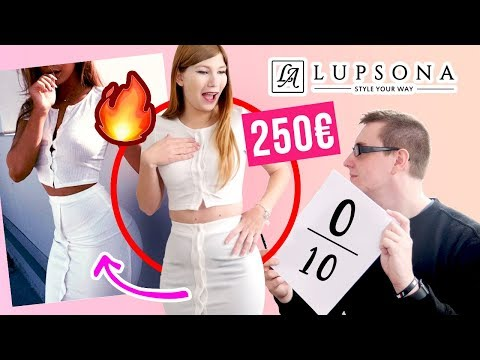 TRY-ON HAUL LUPSONA + IL NOTE MES TENUES ET ACHATS