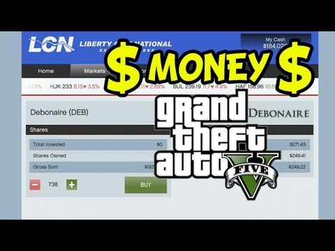 Grand Theft Auto 5 - Easy Money - Stock Market - The Multi Target Assassination