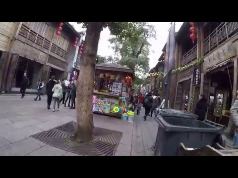 Fuzhou Three Lanes and Seven Alleys Walk Through 三坊七巷