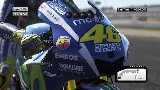 MotoGP 15 -  Valentino Rossi -  Valencia Race (Gameplay)