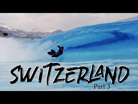 SURFING AND SNOWBOARDING IN SWITZERLAND!  |  Travel Vlog Pt. 3