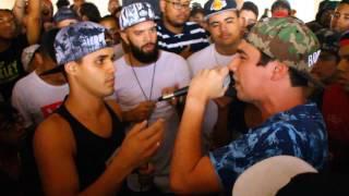 ALVES X NICOLAS (RS)  - Batalha de Rap do Museu - 235 -  FINAL
