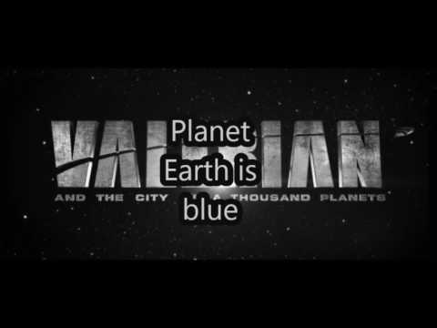 Space Oddity/ (David Bowie)/ (Lyrics) /  (Valerian: and the city of a thousand planets)