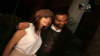 Kalki And Abhay At The Special Screening Of 'Shanghai'