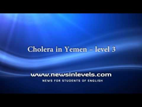 Cholera in Yemen – level 3
