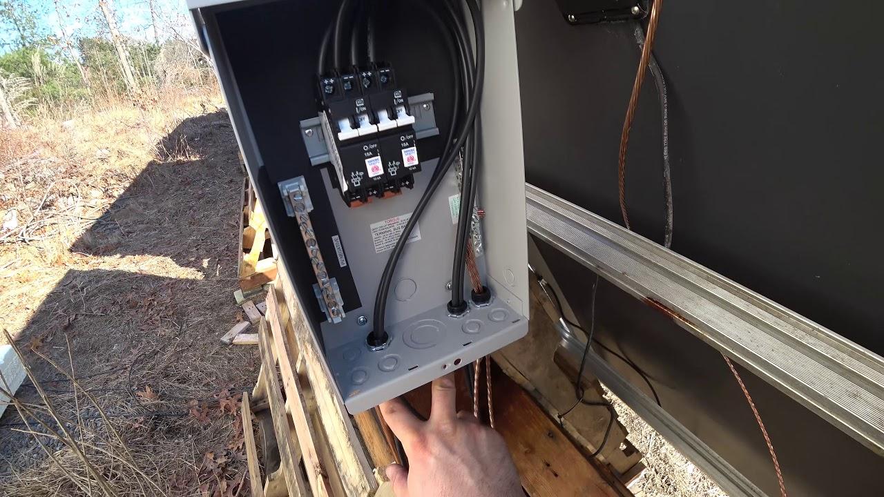medium resolution of disconnect combiner box install midnite solar
