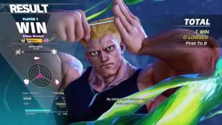 STREET FIGHTER V - Guile vs Ryu
