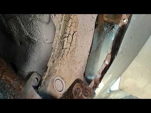 Замена петли двери или устранить провисания дверей Авео