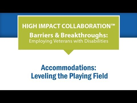 Accommodations: Leveling the Playing Field