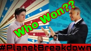 BARACK OBAMA VS MITT ROMNEY | EPIC RAP BATTLES OF HISTORY | REACTION | PLANET BREAKDOWN