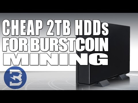 🔵 How to Find Cheap 2TB HDDs for Burstcoin Mining (Easy) 🔵