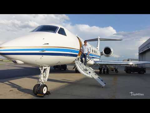 Flying on a $50M Gulfstream V (G5) Private Jet for Free!