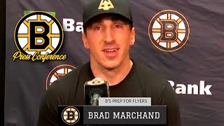 Brad Marchand on Seeing Zdeno Chara in Capitals Uniform, Nick Ritchie & Playing at TD Garden