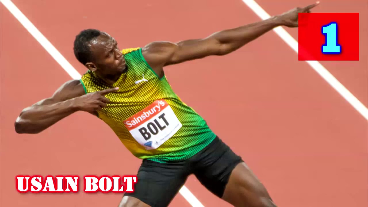 Top 10 Fastest Men In The World 2017 | (100 m) - YouTube