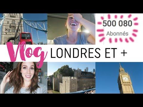 Vlog #23 - Nouveaux cheveux & 1er jour à Londres !
