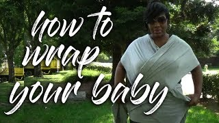 How To Wrap My Baby Wrap | Kangaroo Wrap | Moby Wrap