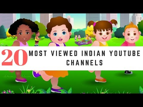 TOP 20 - MOST POPULAR YOUTUBE CHANNELS IN INDIA