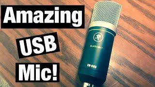 A $50 USB Mic?!?! The Mackie EM 91CU USB Microphone