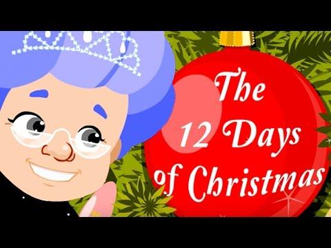 Kids Christmas Songs | 12 Days of Christmas |  Helen Doron Song Club