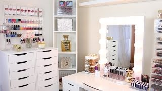 My Makeup Collection + Organization 2016 Diana Saldana