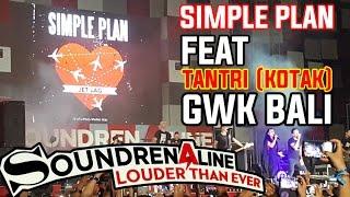 Download lagu Jet Lag Simple Plan feat Tantri Kotak Soundrenaline 2016 GWK Bali MP3