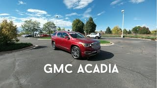 2017 GMC Acadia Denali : Overall Review